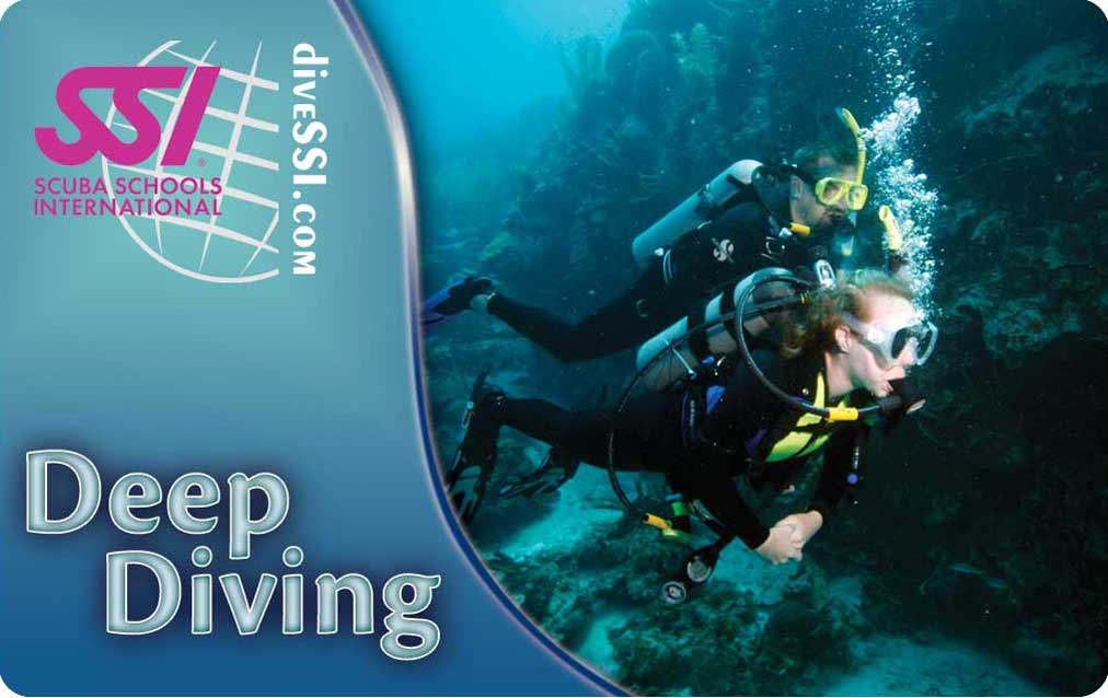 SSI Deep Diving Specialty